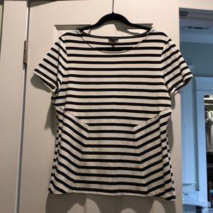 Talbots XL petite - striped shirt